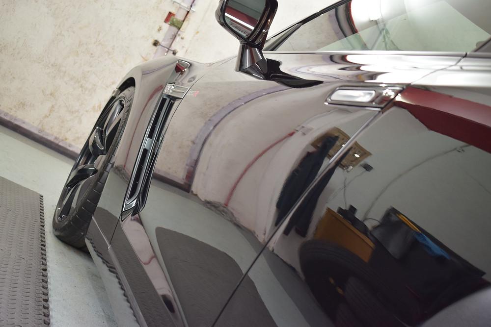 Nissan GTR paint correction detail