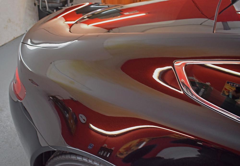 Aston Martin Machine Polishing Swirl Removal