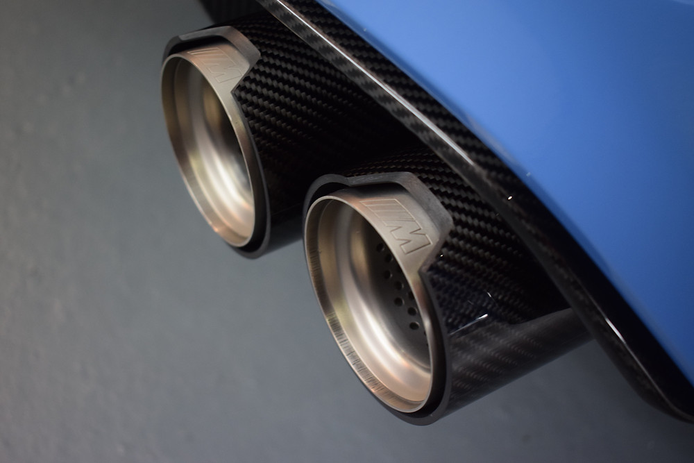 BMW M3 Exhaust Coating SiRamik HR