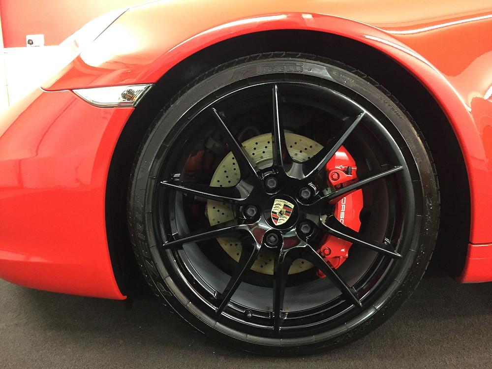 Gtechniq C5 on Porsche Alloy Wheels