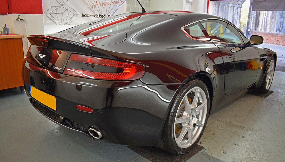 Aston Martin Full Detail Machine Polishing