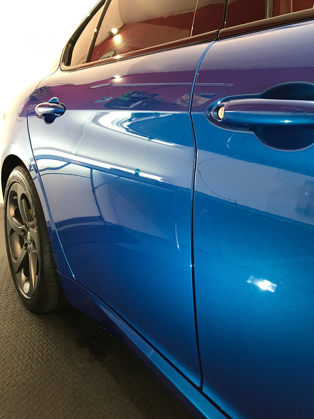 Alfa Romeo Giulia Paint Protection
