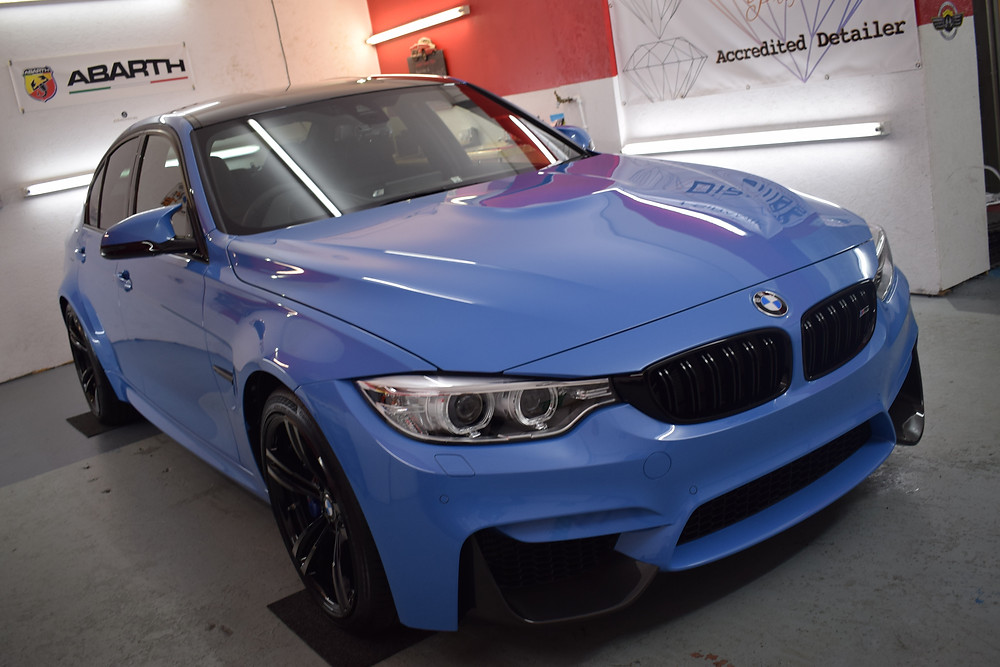 BMW M3 after SiRamik Glasscoat Treatment