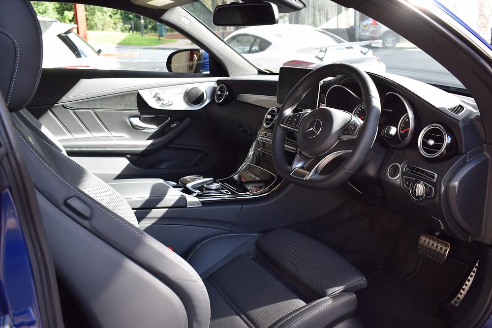 Mercedes C63 New Car Detailing