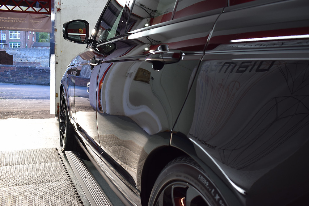 Range Rover paintwork protection ceramic