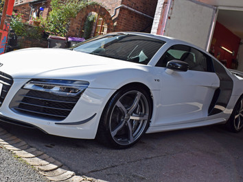 Audi R8 Paint Protection Film - SunTek Self Healing PPF