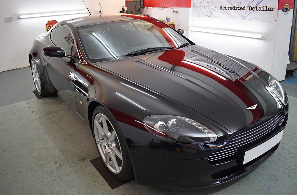 Aston Martin Paint Correction Detail