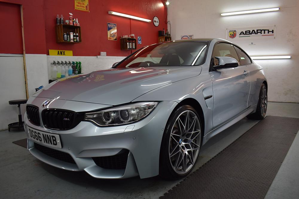 BMW M4 Gtechniq