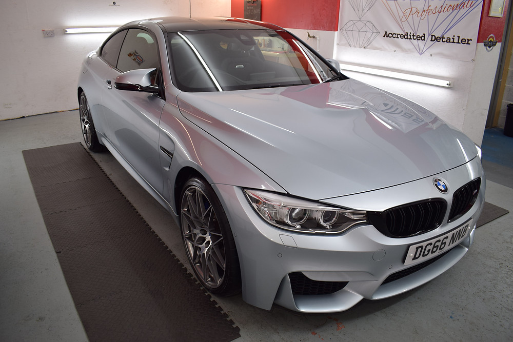 M4 New Car Preparation and Protection Detail