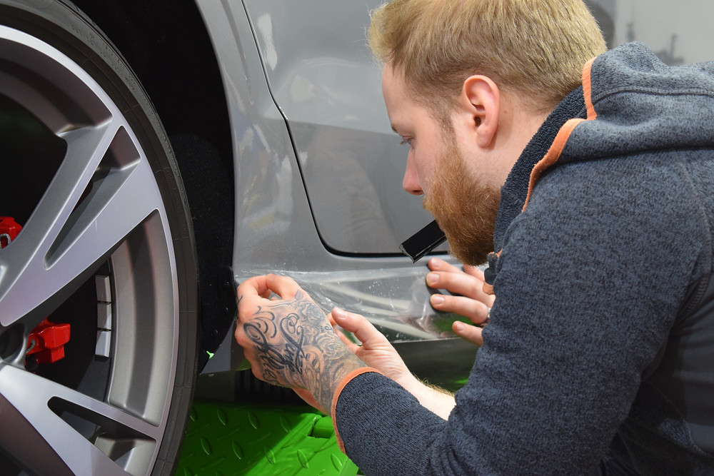 paintwork protection film telford shropshire