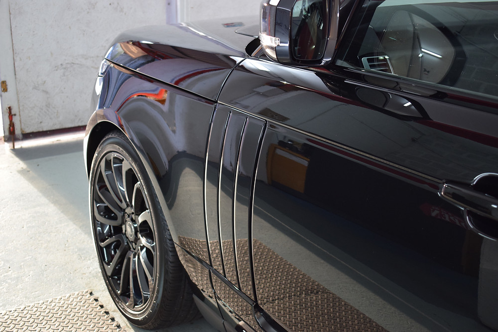 Range Rover Vogue paint protection detail