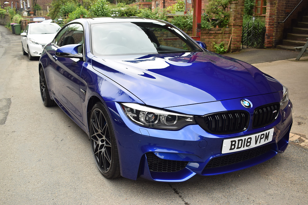 BMW M4 Paintwork Protection New Car by AutoWerX Detailing Telford