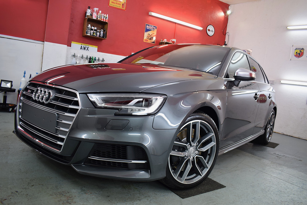 Audi S3 Gtechniq Paint Protection