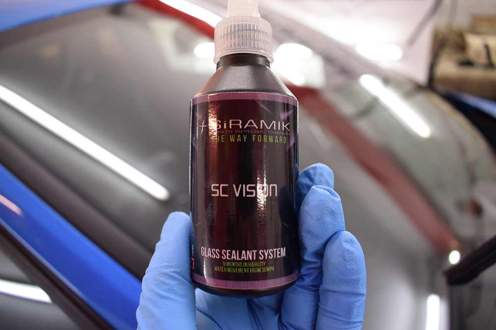 Glass sealant Focus RS Protection Detail