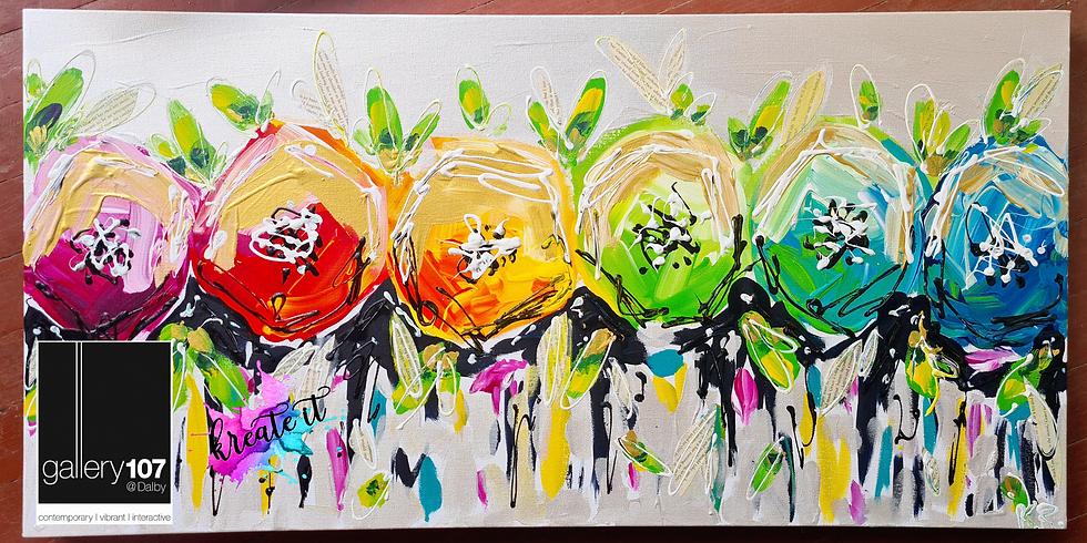 Dalby- Rainbow Floral