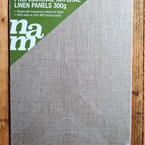 8x10inch linen canvas panel