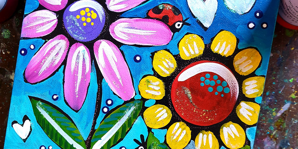 Arty Farty Monday- Spring Flowers
