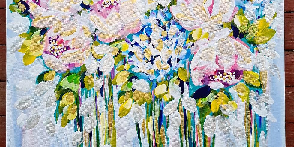 HARRISVILLE- Pastel Peonies Afternoon