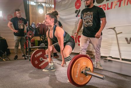 Marthe Winning Deadlift 2019 World Cahmpionships