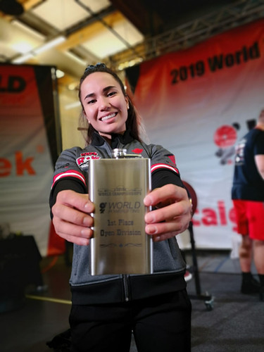 Marthe 1st Place at 2019 World Championships