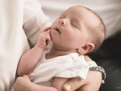Manon 18 jours - Photos de naissance 2019