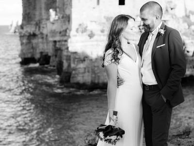 Italian Cliffside Wedding