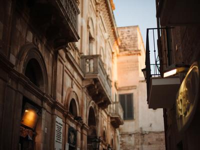 The historic centre of Polignano
