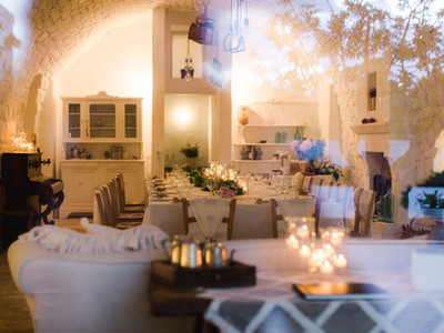 Indoor Wedding Puglia