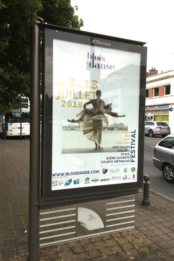 Affiche abri-bus (utilisée) - 25€