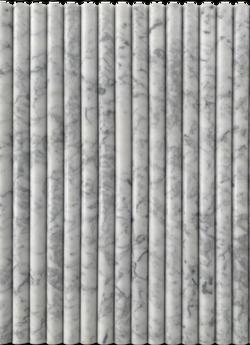 Carrara Flute 30x600x18mm Thick