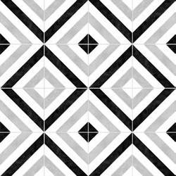 Edge Decor Stripes B&W