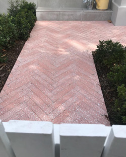 Cement Bagu Terrazzo Pink 60x300x16