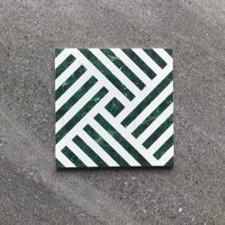 Novo Retro Green Pattern