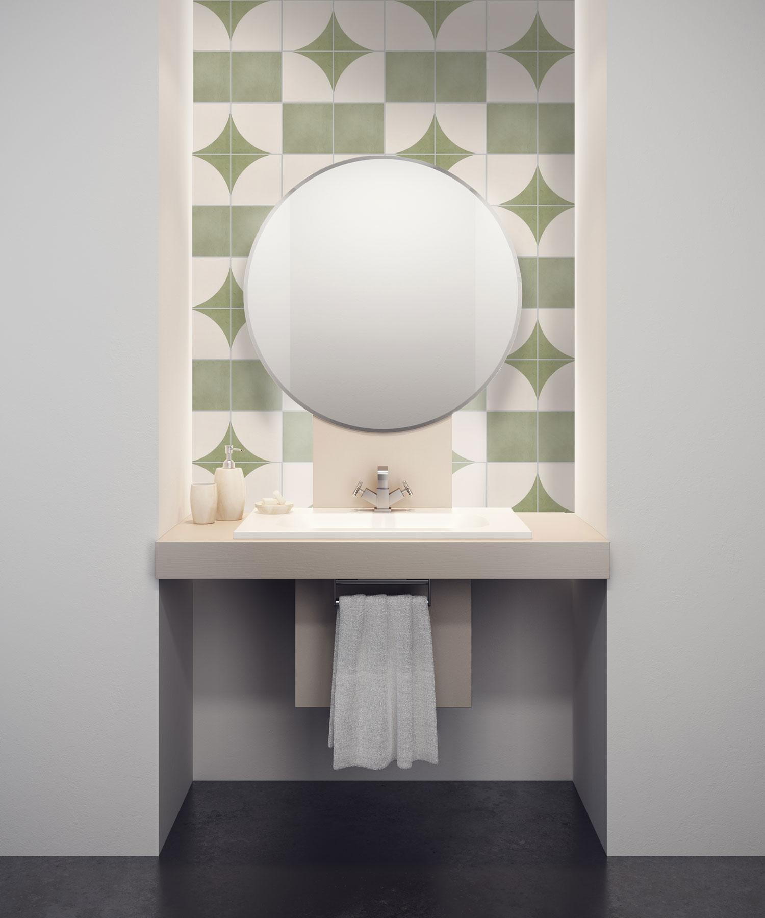 Rella Verde Curved Deco 150x150