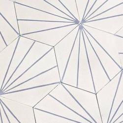 Cement Dandelion Hexagon Lavender