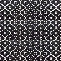 Unico DP Tangier Black/White 200x200