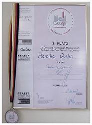 Nail-Design-Meisterschaft www.nagelstudio-moniq.de