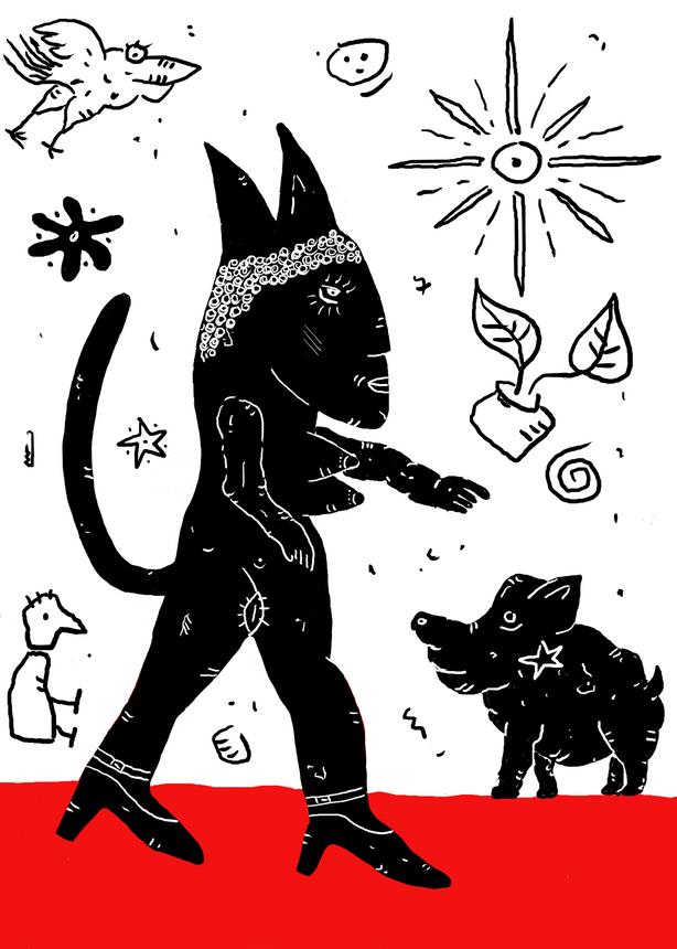 La Déesse et son Cochon Noir