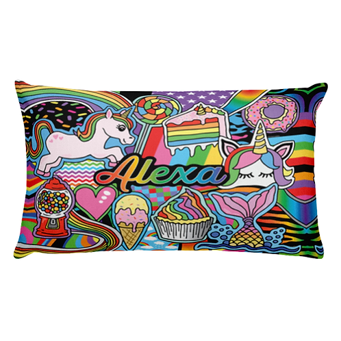 Rainbows & Unicorns Pillow