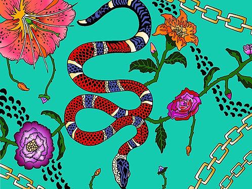 Snakes & Chains Blanket