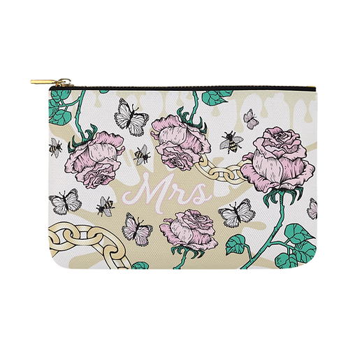 Rose & Chain Bridal Pouch