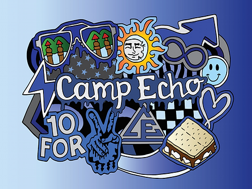 Camp Echo Pouch