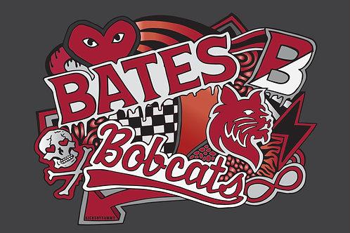 Bates College Pillow Case