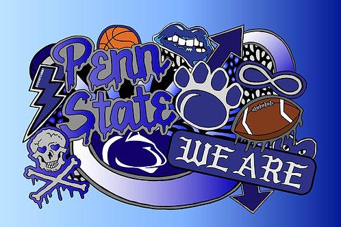 Penn State Pillow Case