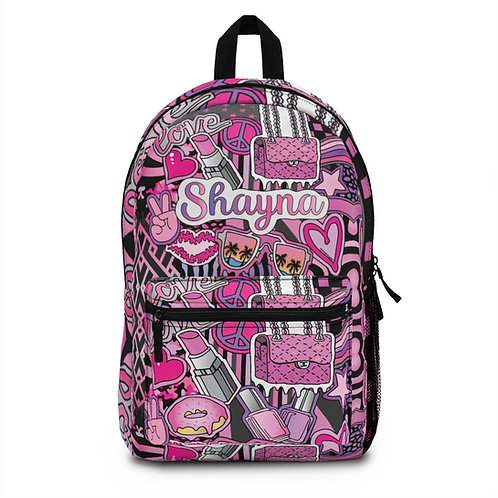 Girlie Girl Lip Backpack