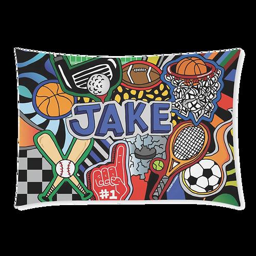 Sporty Pillow Case