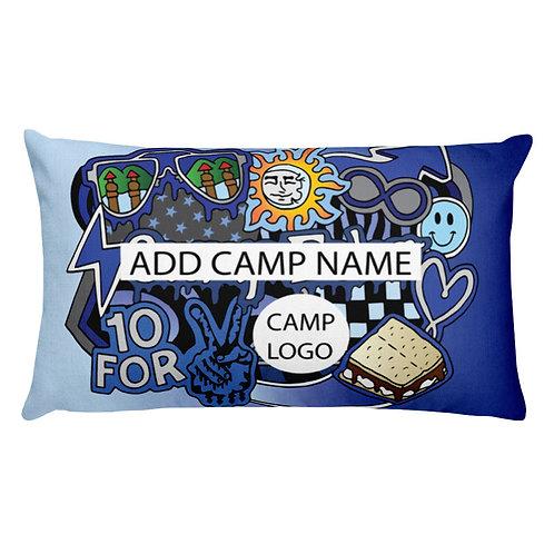 My Camp Pillow (CUSTOMIZE!)