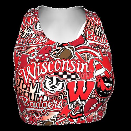 Wisconsin Sports Bra