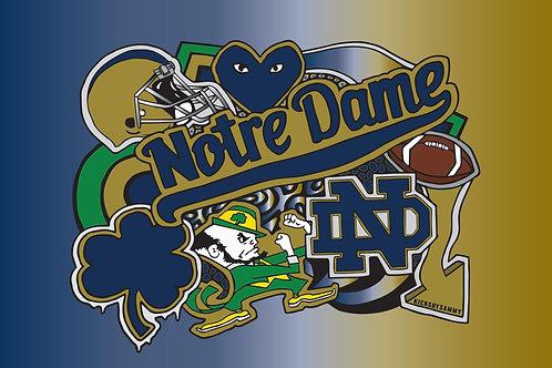Notre Dame Pillow Case