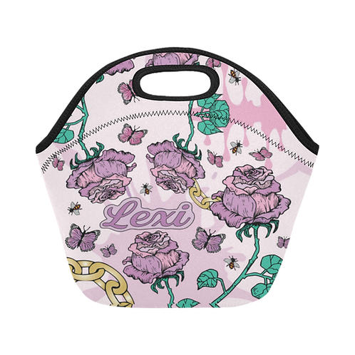 Rose & Chain Lunch Tote (NEW!)